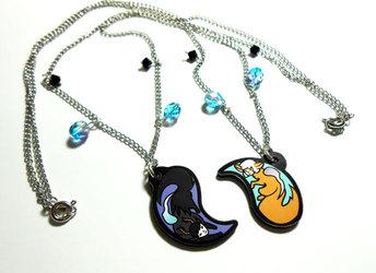 Allytha and Vrass necklace set