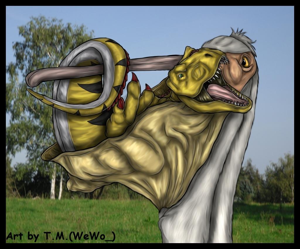 Pelican meets TRex