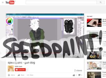 speedpaint - gun dog