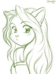 Mana again, sketch commission.