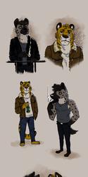 Hyena & Tiger designs