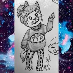 Kitten in a Sweater (November 2016)