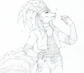 [CM] CyanideDieci Reptile Rough Sketch