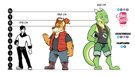 Height Chart - by cvictorrosso