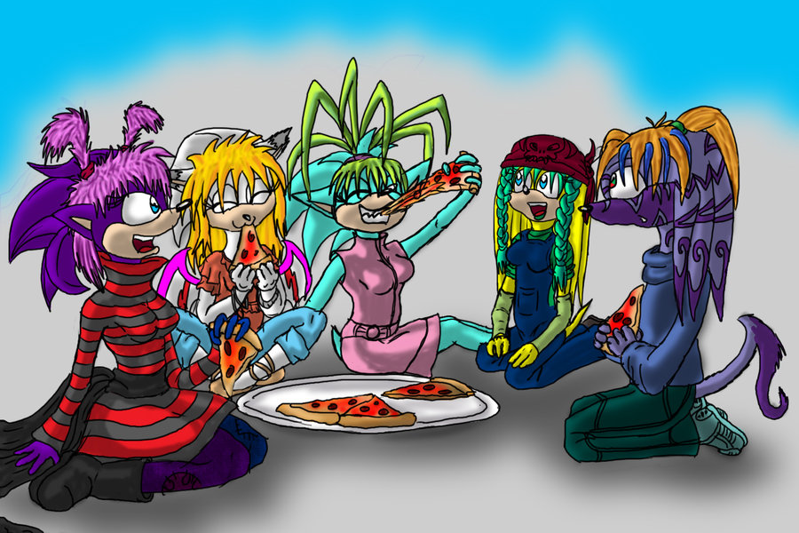 Toxas pizza party