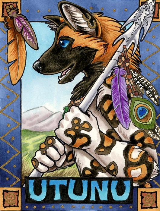 'Utunu Badge' by XianJaguar