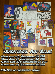 -Sale- Traditional Art!
