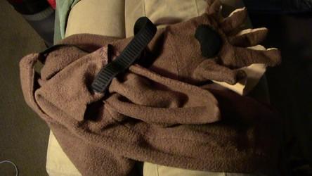 Otter paws (MFF costume pre-pic dump)