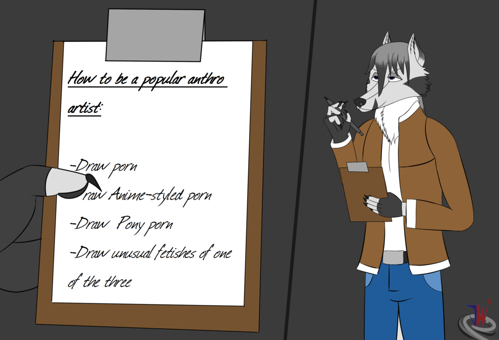 Most recent image: How to be a popular anthro artist