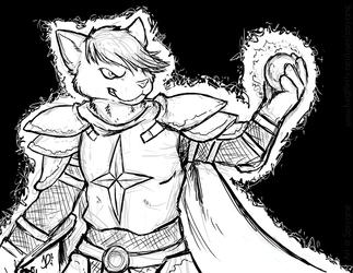 Sir Kain by Soryane - inks