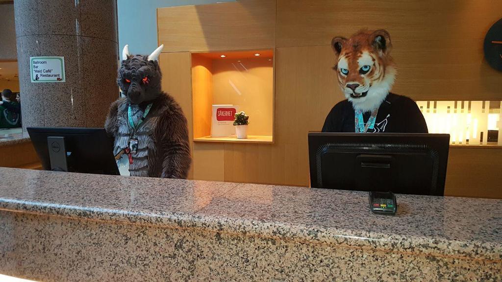 NFC2019 ''Hotel Reception Service''