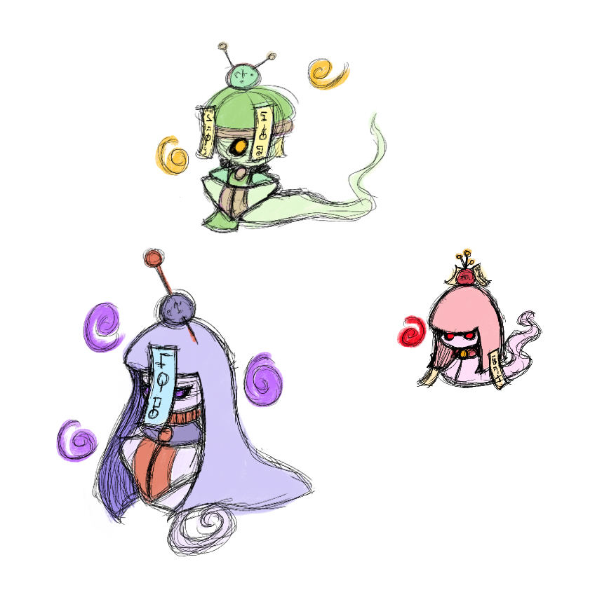 Ghost Enemies