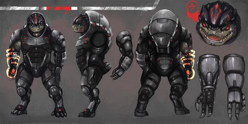 Kramar the clanless [Armor]