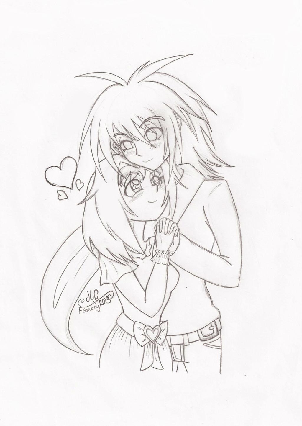 Kurokage and Whispers Valentine's Day 2013