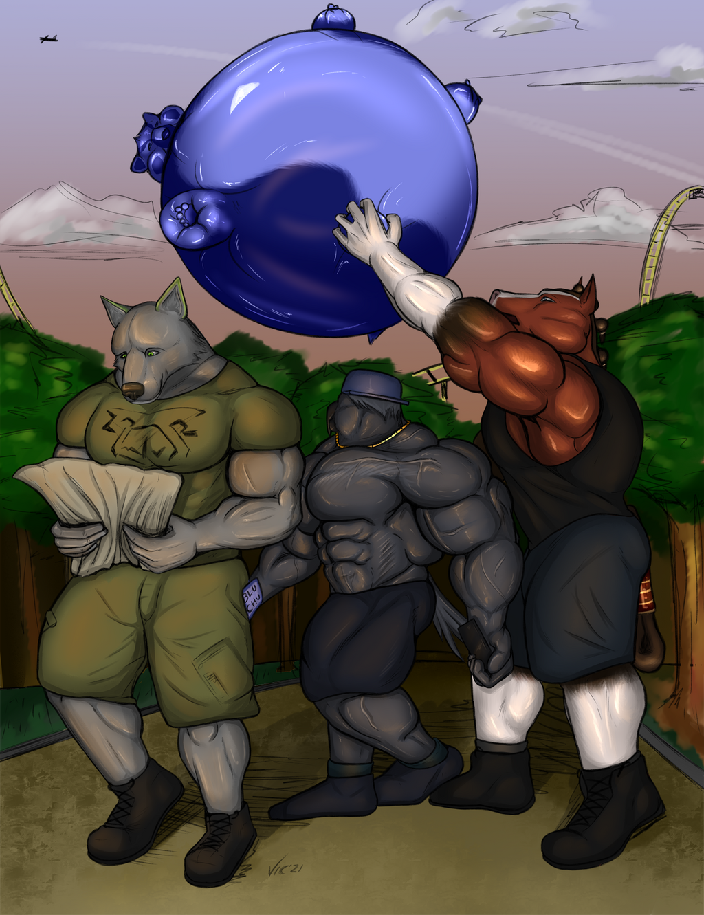Most recent image: Balloon Day At The Park