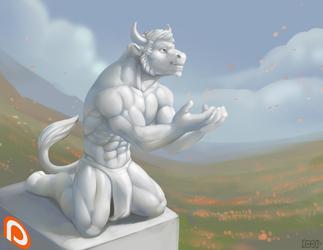 Gift: Plains Statue