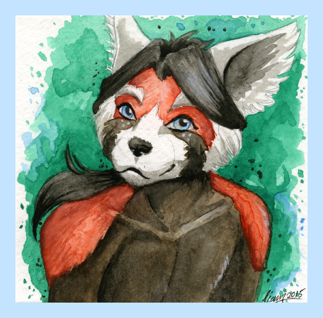 Most recent image: Watercolor - Freckles