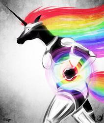 Dark Horse - Digital Sketch