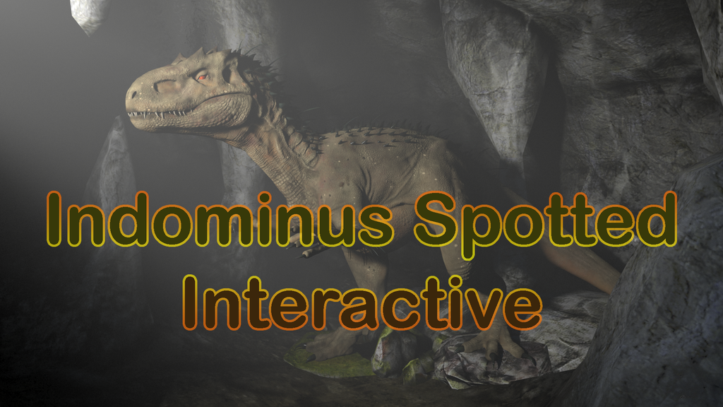 Indominus Spotted Interactive
