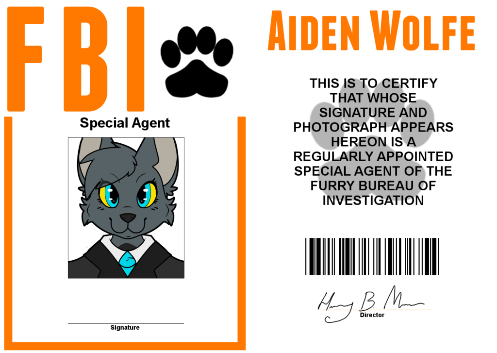 Special Agent: Aiden Wolfe