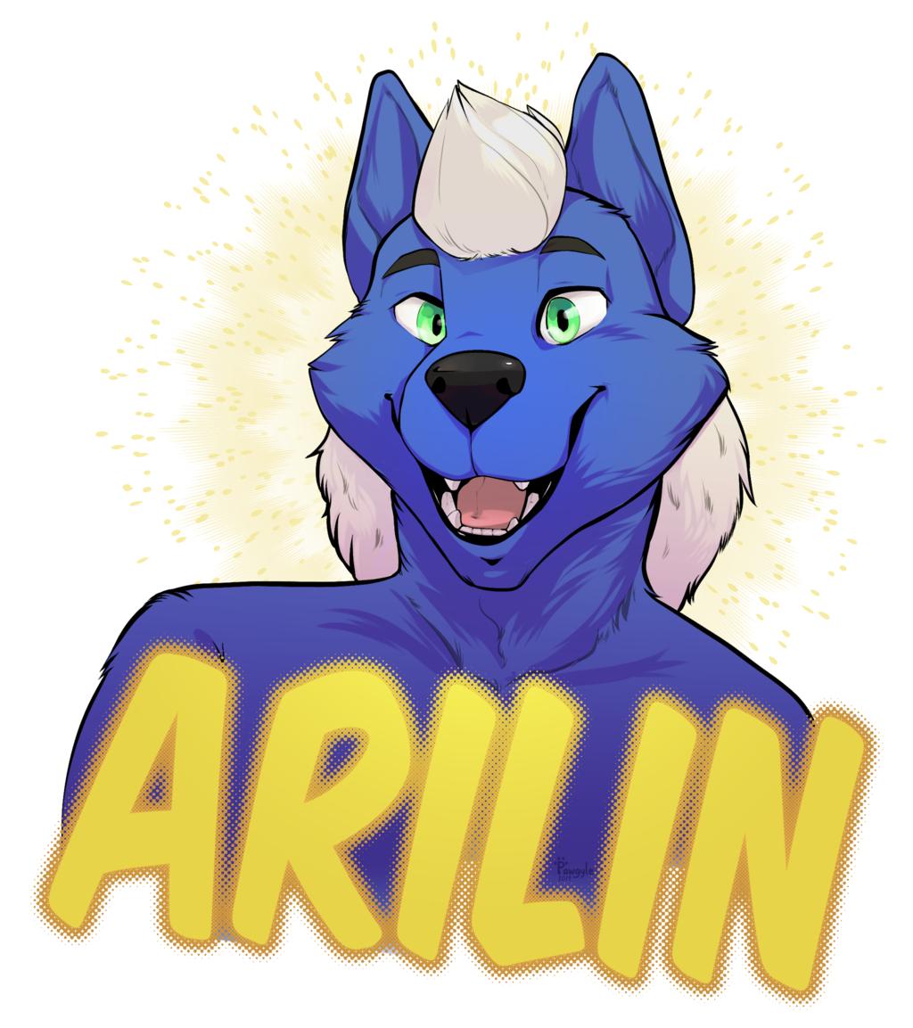 Badge Arilin
