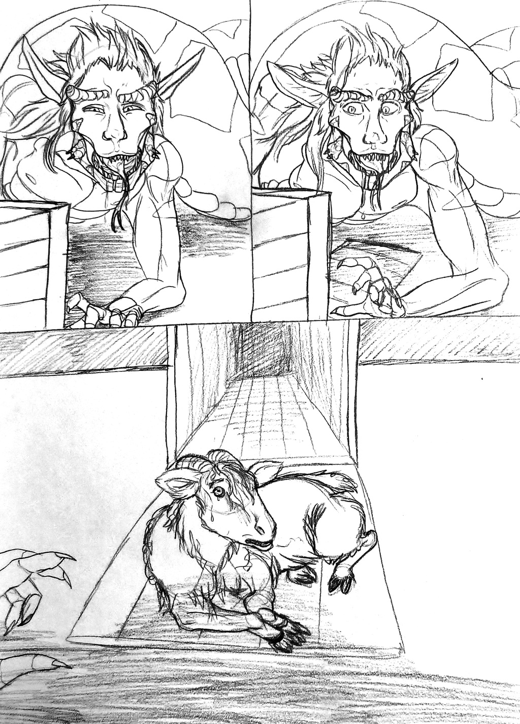 The Living Nightmare--Sketch Story 2