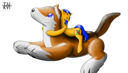 M1gor4 Inflatable Dog fun Version 3