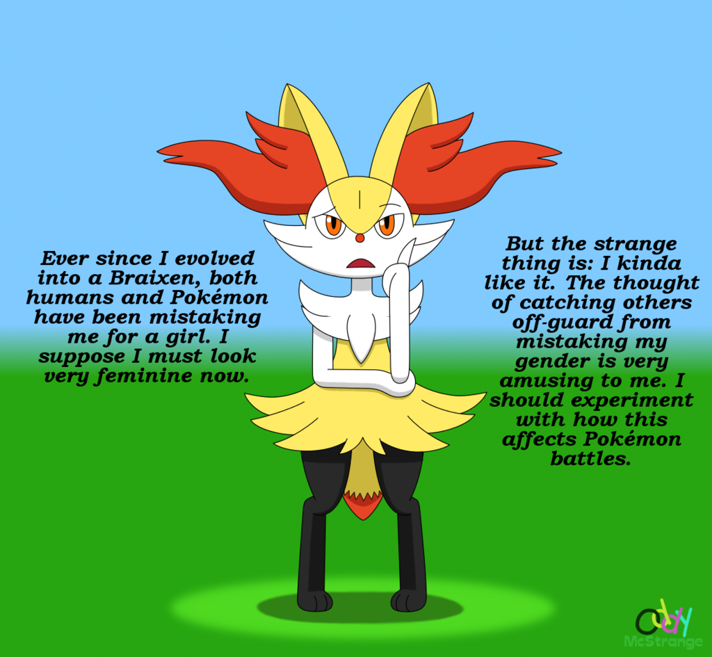 The Strange Thing About Bennet's Braixen