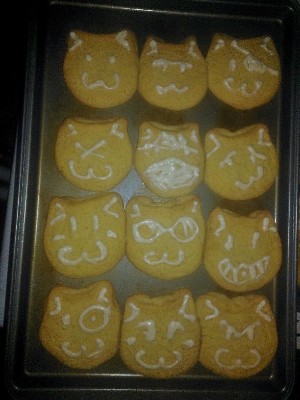 Cat Cookies Version 2