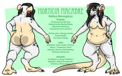 Morticia Reference 2013