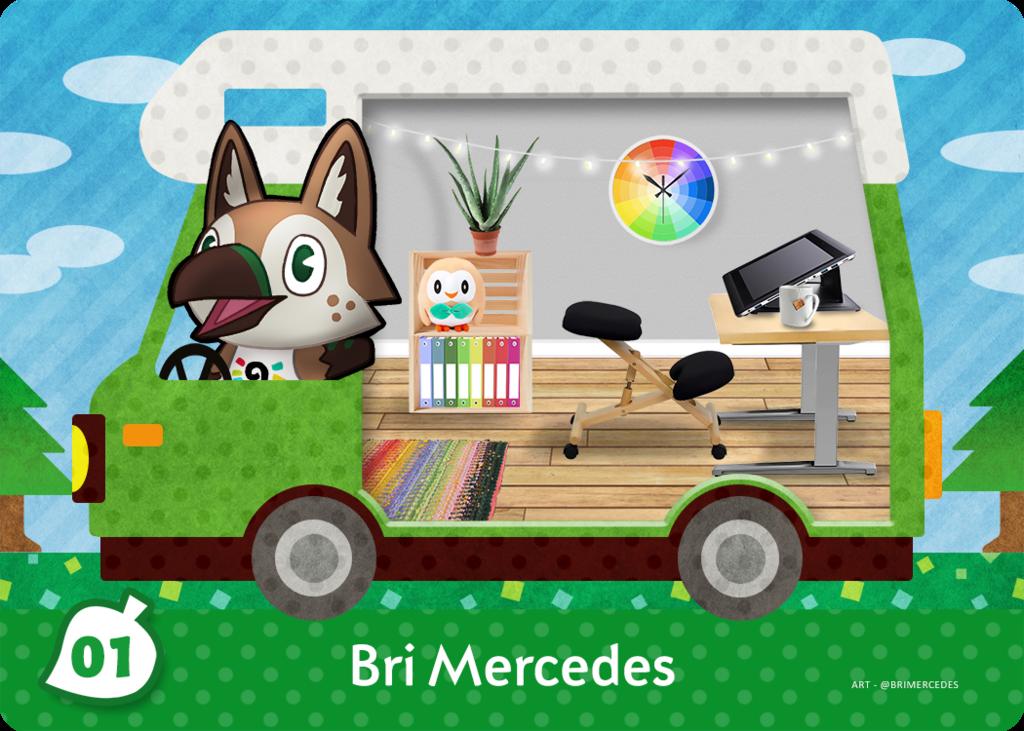 [AC Welcome amiibo] Bri Mercedes