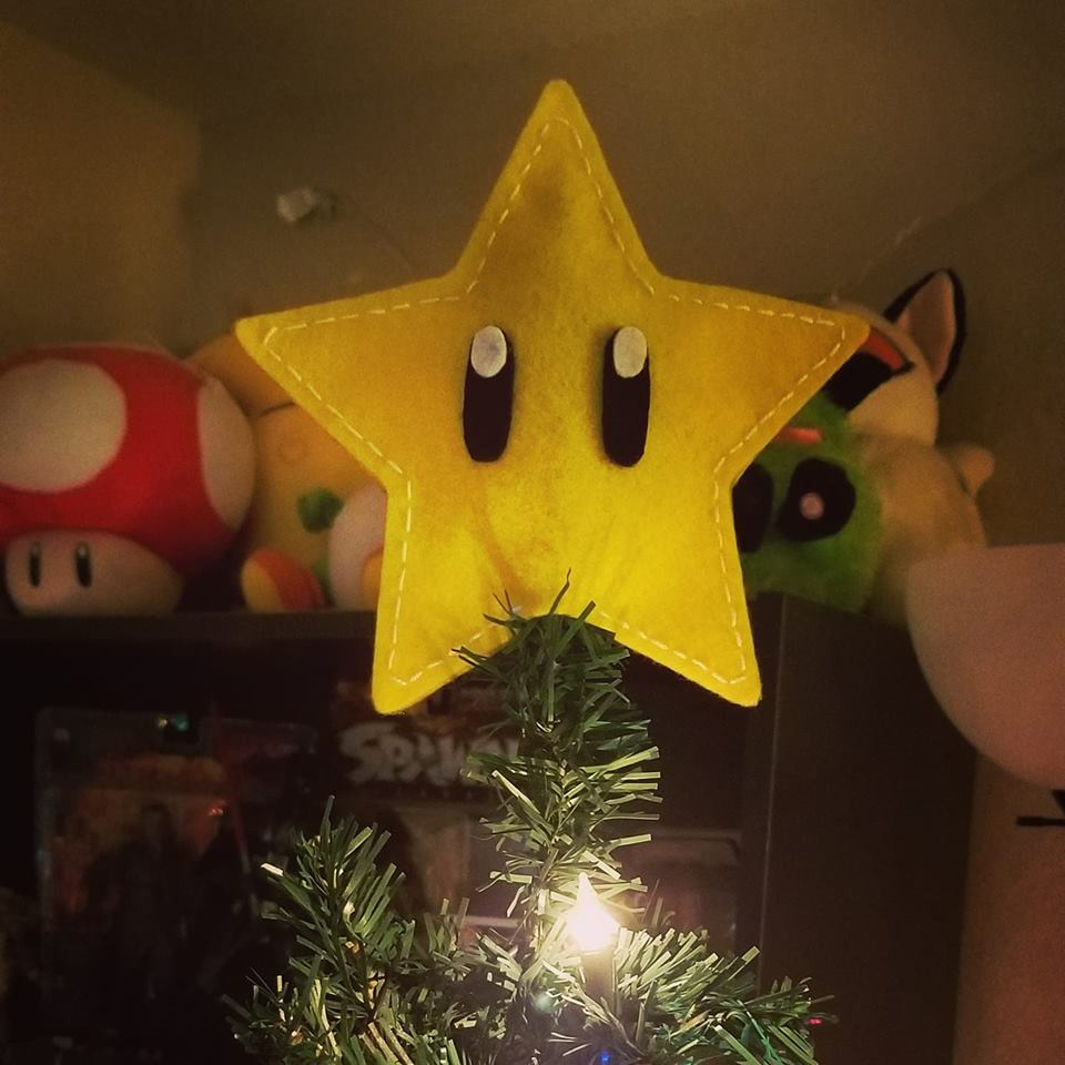 Most recent image: Invincibility Star Tree Topper