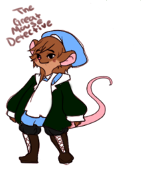 A Case of Identity [ Mouse Detective ] ; [Viira]