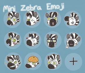 zebra emoji