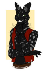 COMMISSION: Serval Tabaxi
