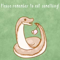Reminder Noodle: Remember to Eat!