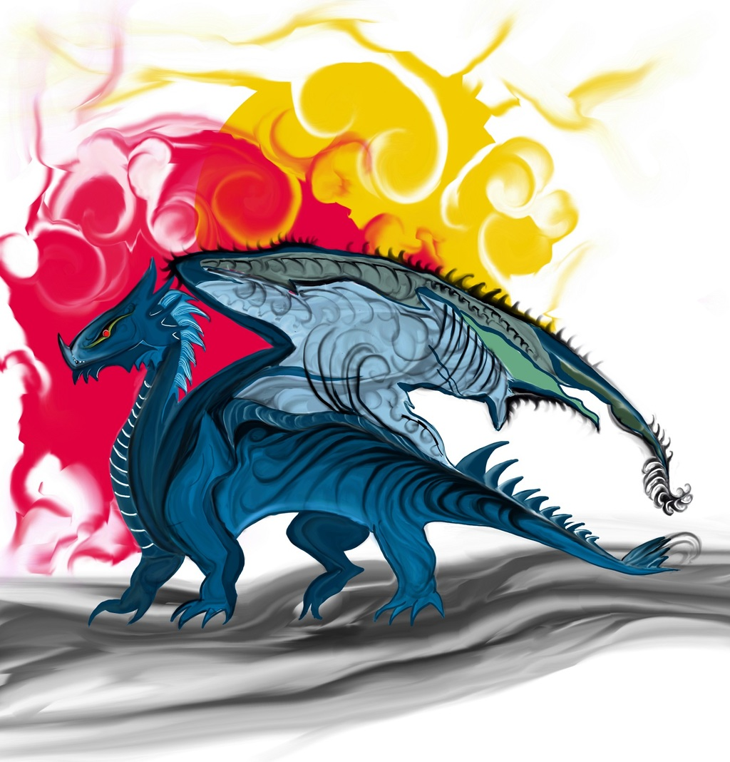 Most recent image: Abstract Dragon