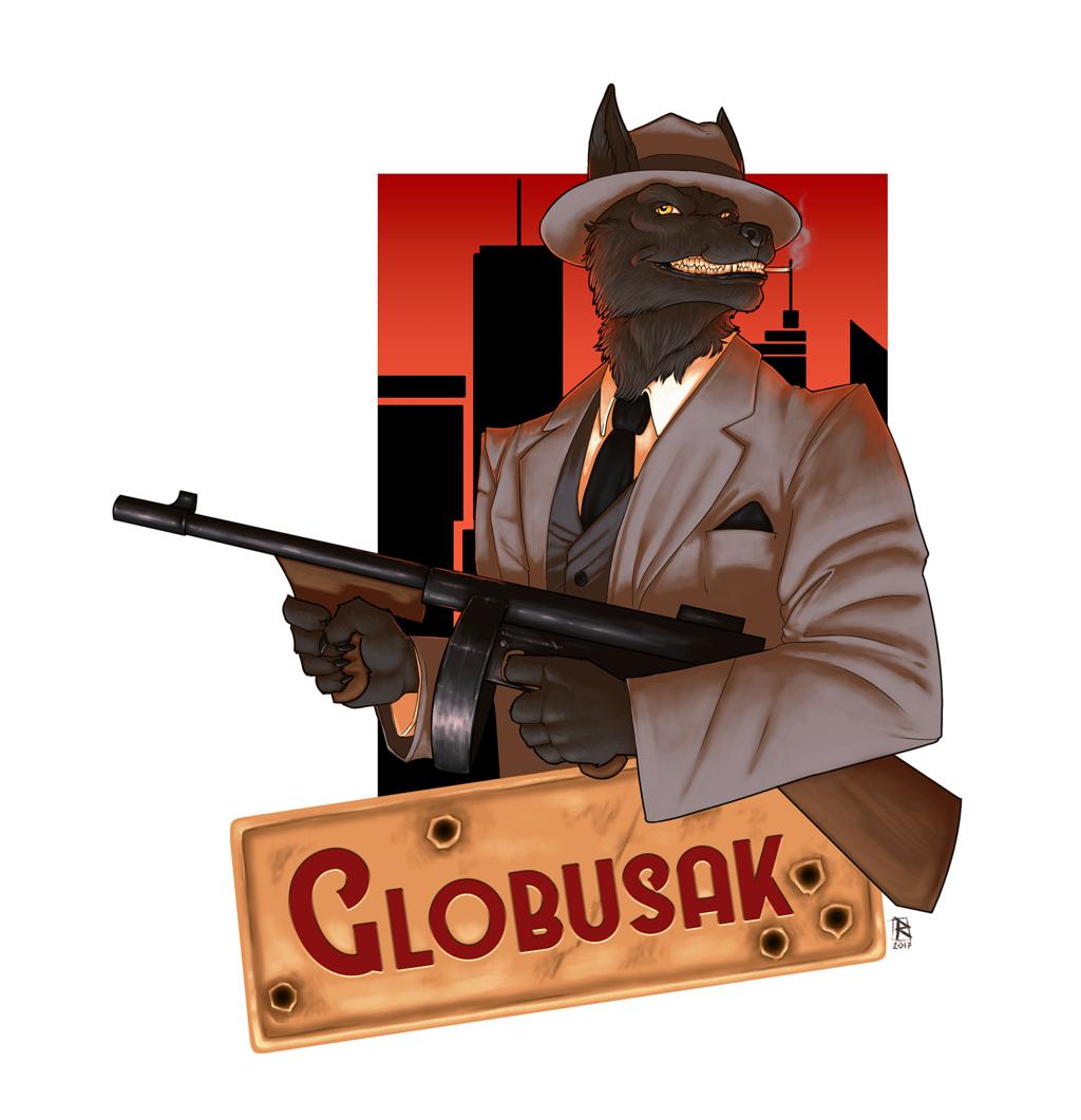 Most recent image: Badge commission for Globusak
