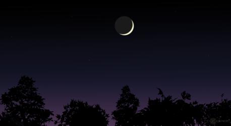 Moon-Evening