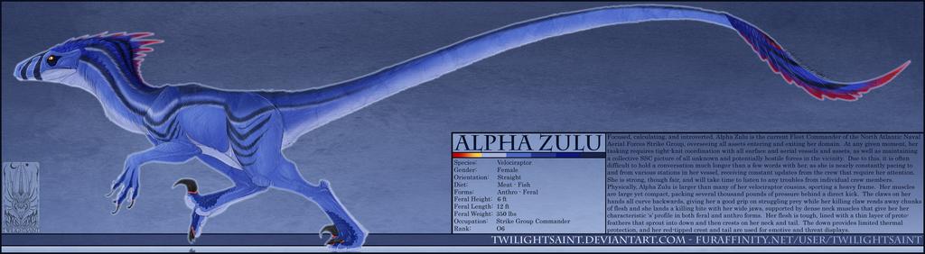 Personal - Alpha Zulu Reference Sheet