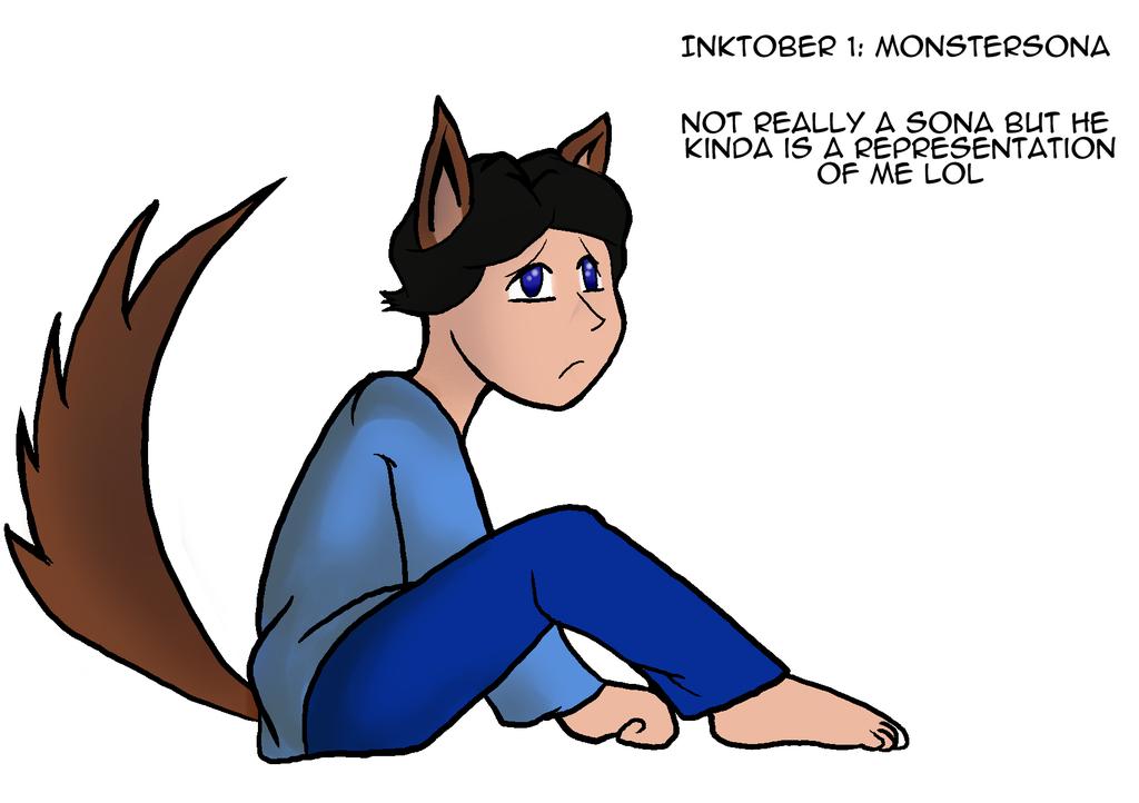 Inktober 1: Monstersona (Discontinued)