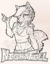 NightFell Badge Ink