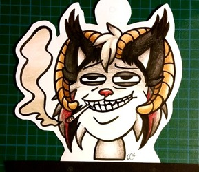 (A slightly more stupid) Toasty Con Badge :)