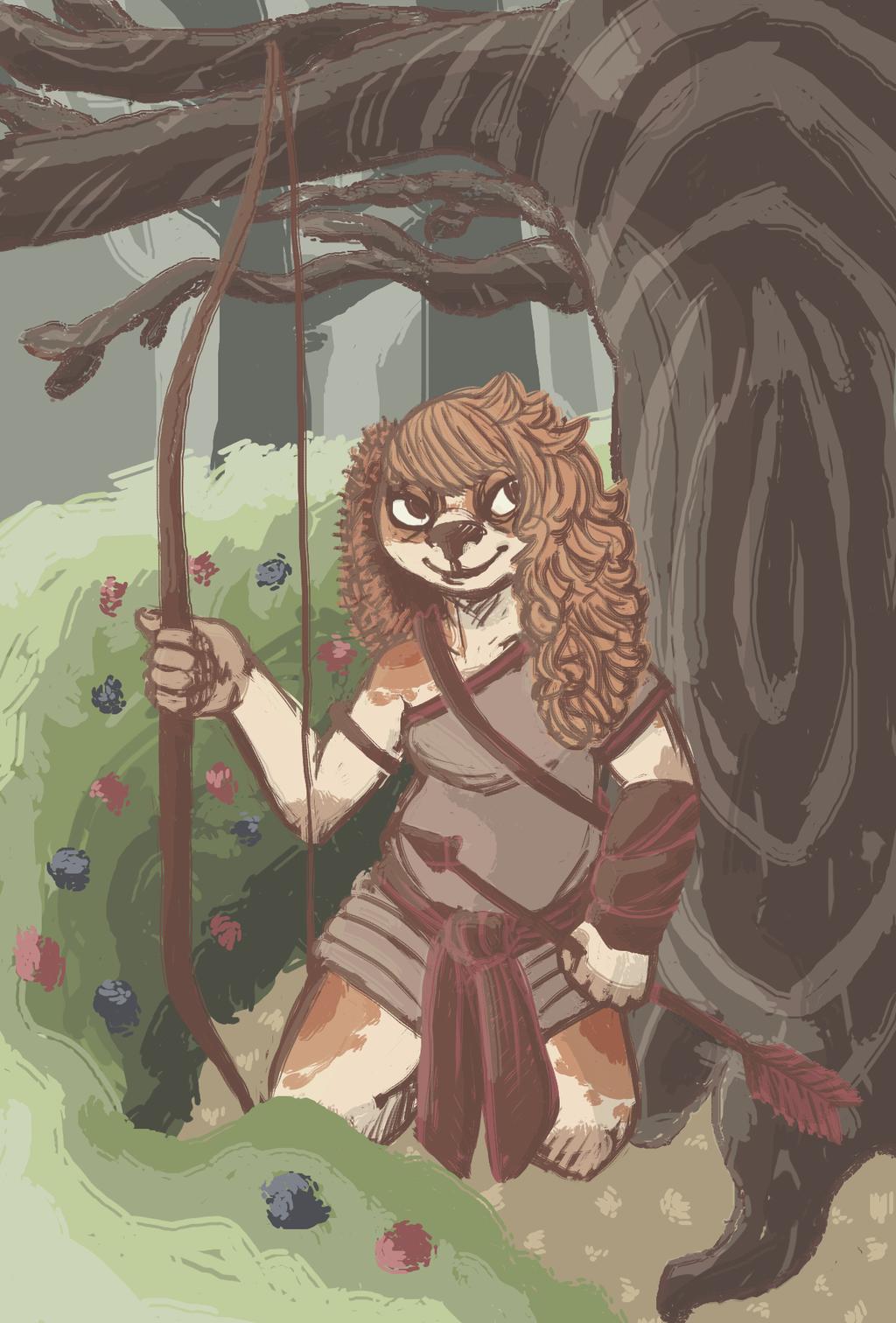 Andry, Warrior Queen