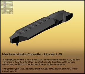 Medium Missile Corvette - Litaner L-01