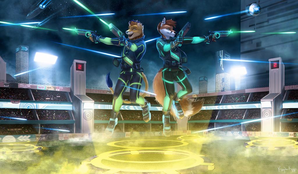 [COM] Futuristic Laser Tag