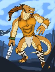 Dragonborn Barbarian [Comm]