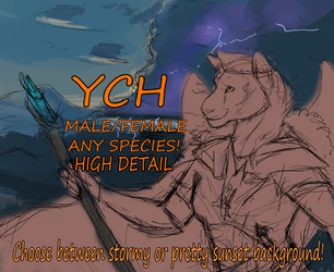YCH  BATTLE MAGE AUCTION