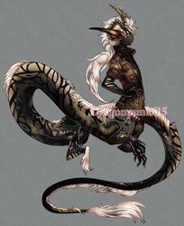 custom dragontaur