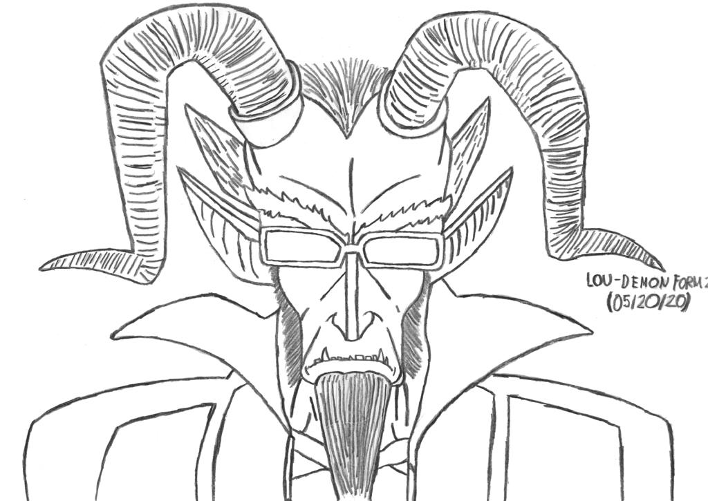 Lou - Demon Form 2